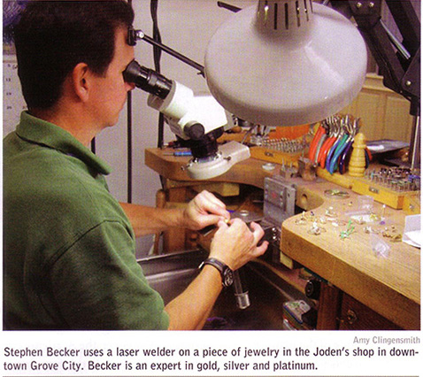 Bench Jeweler at Joden World Resources
