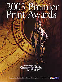 Print award from Graphic Arts