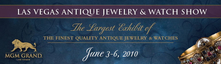 LasVegas 2010 Antique Jewelry Show Cover