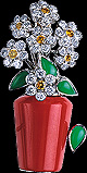Flower Pot Brooch